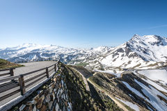 High Alpine Road Royalty Free Stock Images