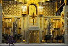 High altar Royalty Free Stock Image