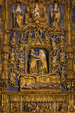 High Altar - Burgos Cathedral - Spain Royalty Free Stock Photo