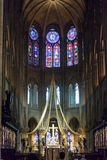 High altar of the Notre Dame de Paris Royalty Free Stock Photography