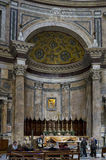 The High Altar of the Pantheon Royalty Free Stock Photography