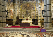 High Altar of the Siena Cathedral Royalty Free Stock Image