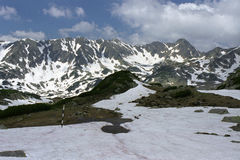 High altitude. Alpine area from Retezat National Park Stock Photos