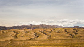 High altitude Andean landscape with dramatic sky Stock Photography