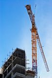 The high-altitude crane royalty free stock image