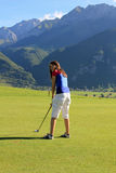 High altitude golf Stock Photos