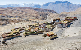 High altitude Himalayan Village Stock Image