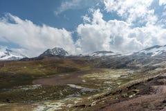 High altitude landscape stock photos