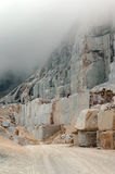 High altitude marble quarry Royalty Free Stock Image