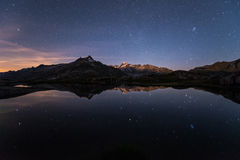 High Altitude Nightscape Stock Photos