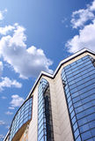 High-altitude office building Royalty Free Stock Photo