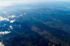 High Altitude Photo Of Planet Earth Stock Photo