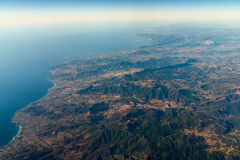 High Altitude Photo Of Planet Earth Stock Images