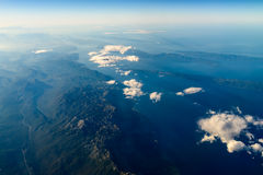 High Altitude Photo Of Planet Earth. Horizon stock images