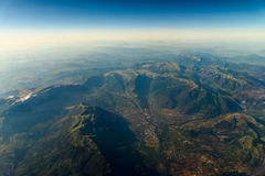 High Altitude Photo Of Planet Earth Stock Photography