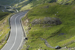 High altitude road Royalty Free Stock Photos