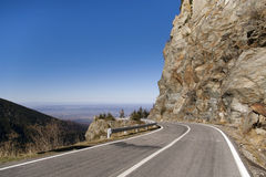 High altitude road Stock Photos