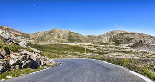 High Altitude Road Royalty Free Stock Photo