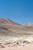 HIgh Andean Landscape Royalty Free Stock Photos