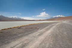 High Andes Lake, Bolivia Stock Image