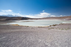 High Andes Lake, Bolivia Royalty Free Stock Photography
