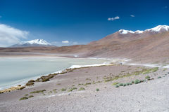 High Andes Lake, Bolivia Stock Photography