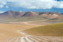 High Andes Road Royalty Free Stock Images