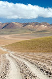 High Andes Road Royalty Free Stock Photos