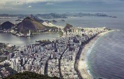High angle city aerial view of Rio de Janeiro Stock Photo