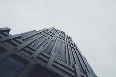 High Angle Photo of Building Royalty Free Stock Images