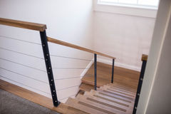 High angle of stairs Royalty Free Stock Photography