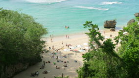 High angle view of Beach at Bali island Stock Photography