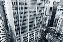 High angle view of city Royalty Free Stock Images
