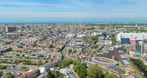 High angle view of The Hague, Netherlands Royalty Free Stock Images