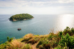High angle view island and Andaman sea Stock Image
