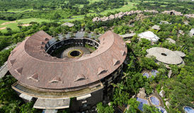 High angle view of Mission Hill Haikou Stock Photography