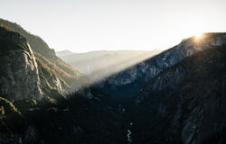 High Angle View of Mountains during Daytime Stock Photos