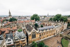 High angle view of Oxford Stock Image