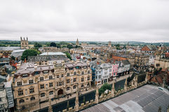 High angle view of Oxford Royalty Free Stock Photos