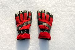 Winter clothing equipment for  hands royalty free stock images