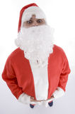 High angle view of santa clause Royalty Free Stock Images