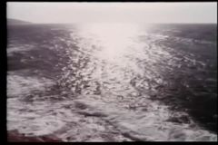High angle view of seashore stock video footage