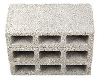Isolated Construction Blocks - Three High Angle Royalty Free Stock Image
