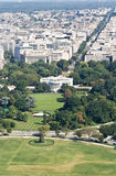 High angle view on washington DC stock photos