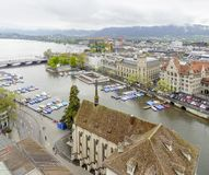 Zurich in Switzerland Royalty Free Stock Photo