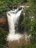 High angle of the waterfall Stock Photography