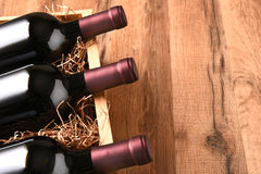 Free High Angle Wine Crate Stock Photography - 66921962