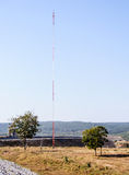 High antenna pole Royalty Free Stock Photos