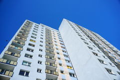 High apartment block Stock Image