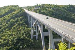 High arch bridge in Cuba Stock Image